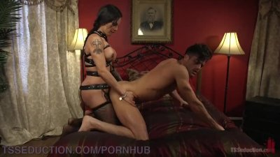 Lance Hart Is Given To TS Foxxy For Punishment