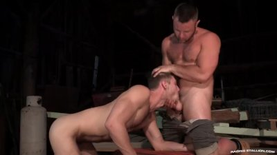 RagingStallion Uncut Cock Gets Rightly Fucked In The Ass
