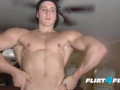 CJ Reed Cums All Over His Greek Godlike Body