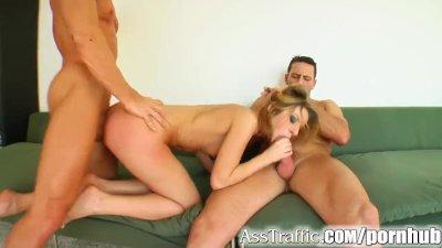 Very beautiful Asian slut has a fuck in her ass