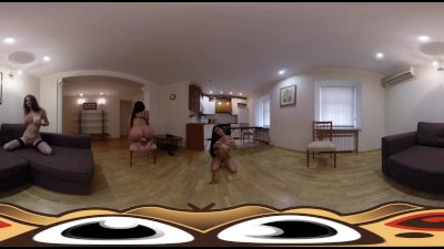 VR Porn Hot Threesome Party | Virtual Porn 360