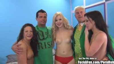 Sperm Swapping Hot Titty Blond