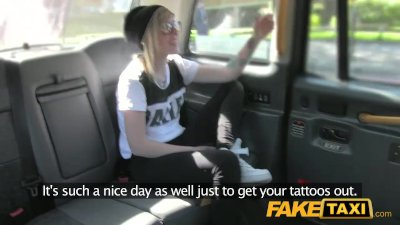 Petite blonde teen cutie fucked and takes messy facial