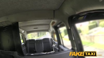 Fake Taxi Natural tits redhead sucks dick