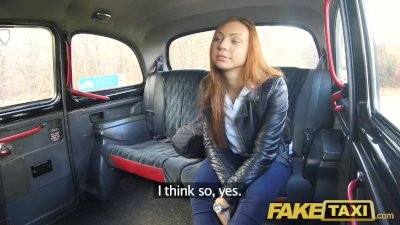 Fake Taxi Voyeur catches sexy couple fucking