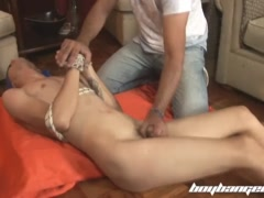 Cute house boy gets fucked hard and raw