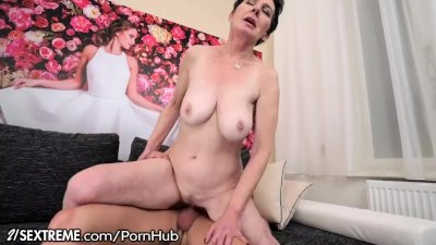 21sextreme granny loves riding young dick 10