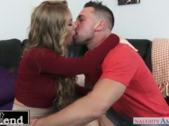 Busty Nicole Aniston sucks and fucks her friend\'s husband - Naughty America