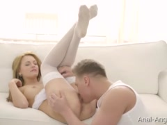 anal-Angels.com - Emily Thorne - Strawberry Titty Blonde Rides A Dick