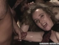 The Swinger Experience Presents Huge gangbangs with over 50 men fucking the sluts at one go