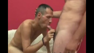 Hairy Man Loves That Mouth In His Dick
