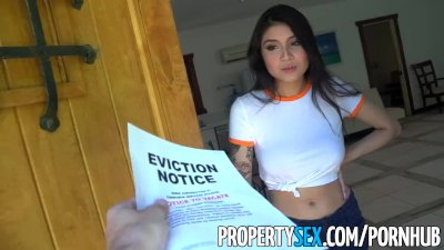 PropertySex - Hot Asian tenant with b...