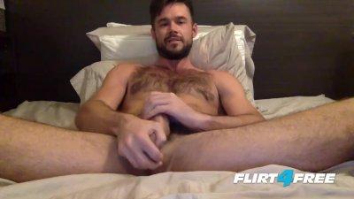 Mike De Marko Jerks Off His Big Porn Star Cock