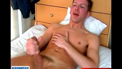 In spite of him: Loic\'s cock (a delivery guy) gets serviced.