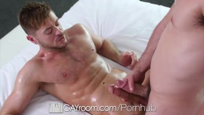 GayRoom - Massage turns into fuck with Jack Andy & Lex Ryan