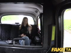 Preview 3 of Fake Taxi Slim Redhead Likes Rough Sex