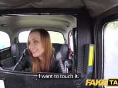 Preview 7 of Fake Taxi Slim Redhead Likes Rough Sex