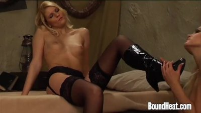 Mistress Of Souls II: Slave Gently Undresses Her Madam
