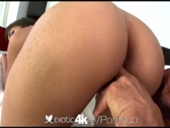 Exotic4K - Busty Cassidy Banks bends over for a big cock