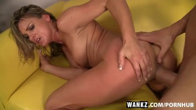 WANKZ- MILF Amanda Blow Craves A Creamy Load