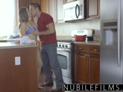 NubileFilms - Hot Daughter Fucks Moms Boyfriend