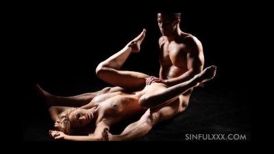 Sensual sex couple