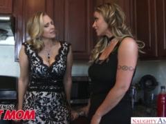 MILFs Julia Ann & Eva Notty fuck celebrate threesomes - Naughty America