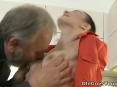 Old Goes Young - Katia is a young and sensuous woman
