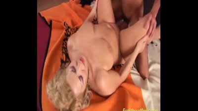 hot sex with shaved Stepmom